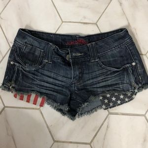 Almost Famous Flag Shorts